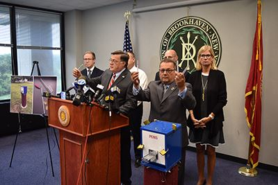 Crack Pipe Vending Machine Press Conference