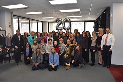 Dress for Success Group Photo