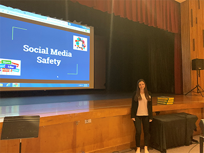 Brittany Hayes at Social Media Forum