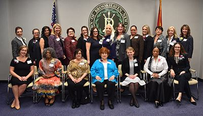 Womens Recognition Group photo