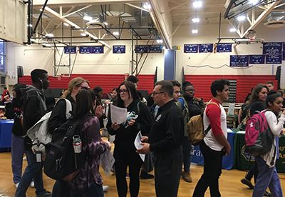 Bellport HS Career Day photo