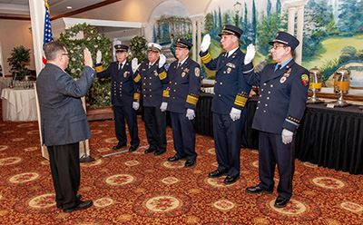 Fire Chiefs Council swearing in