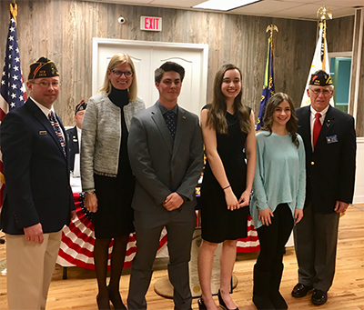 VFW Essay Contest group photo