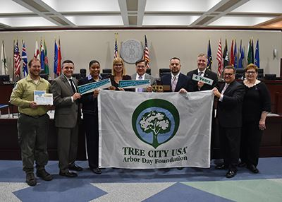 Tree City group photo