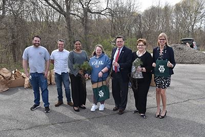 Elected Officials Giving Away Trees