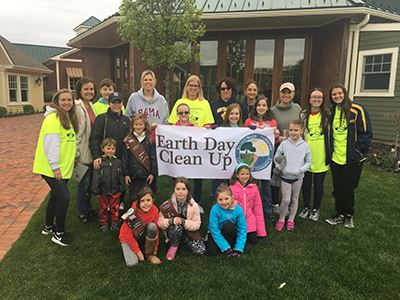Bonner Earth Day Clean Up group photo
