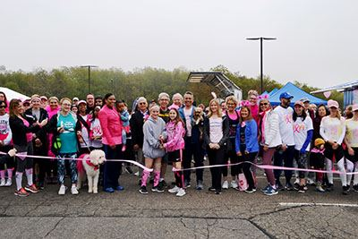 Mather Families Walk for Hope group photo