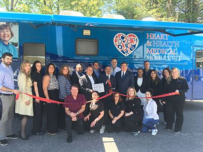 Heart and Health Mobile Unit group photo