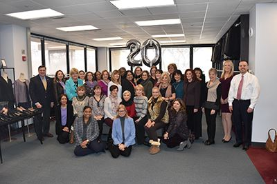 Dress for Success 20th Anniversary Group photo