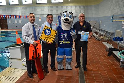 Water Safety group photo