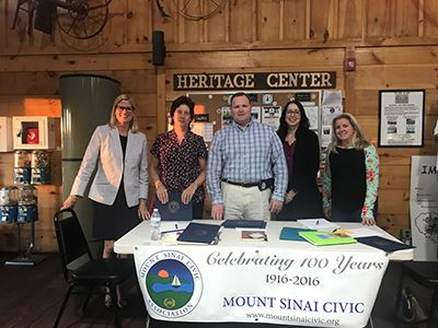 Mount Sinai Civic group photo