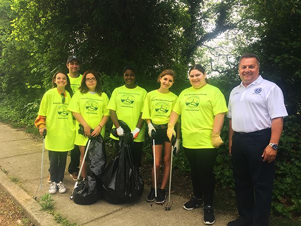 Great Brookhaven Clean Up group photo