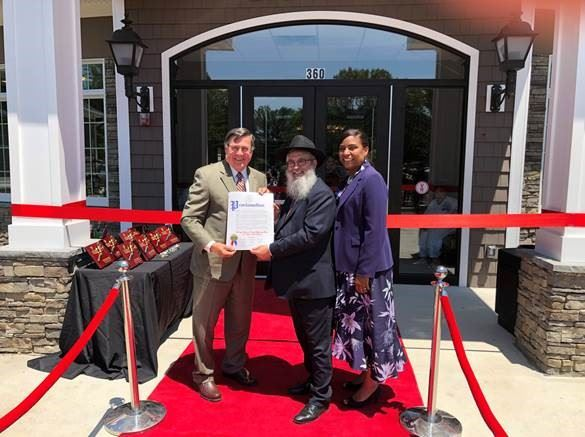 Chabad ribbon cutting photo