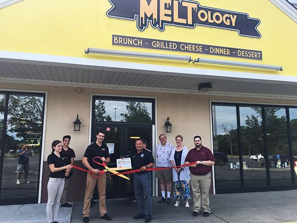 Meltology Store Front Ribbon Cutting