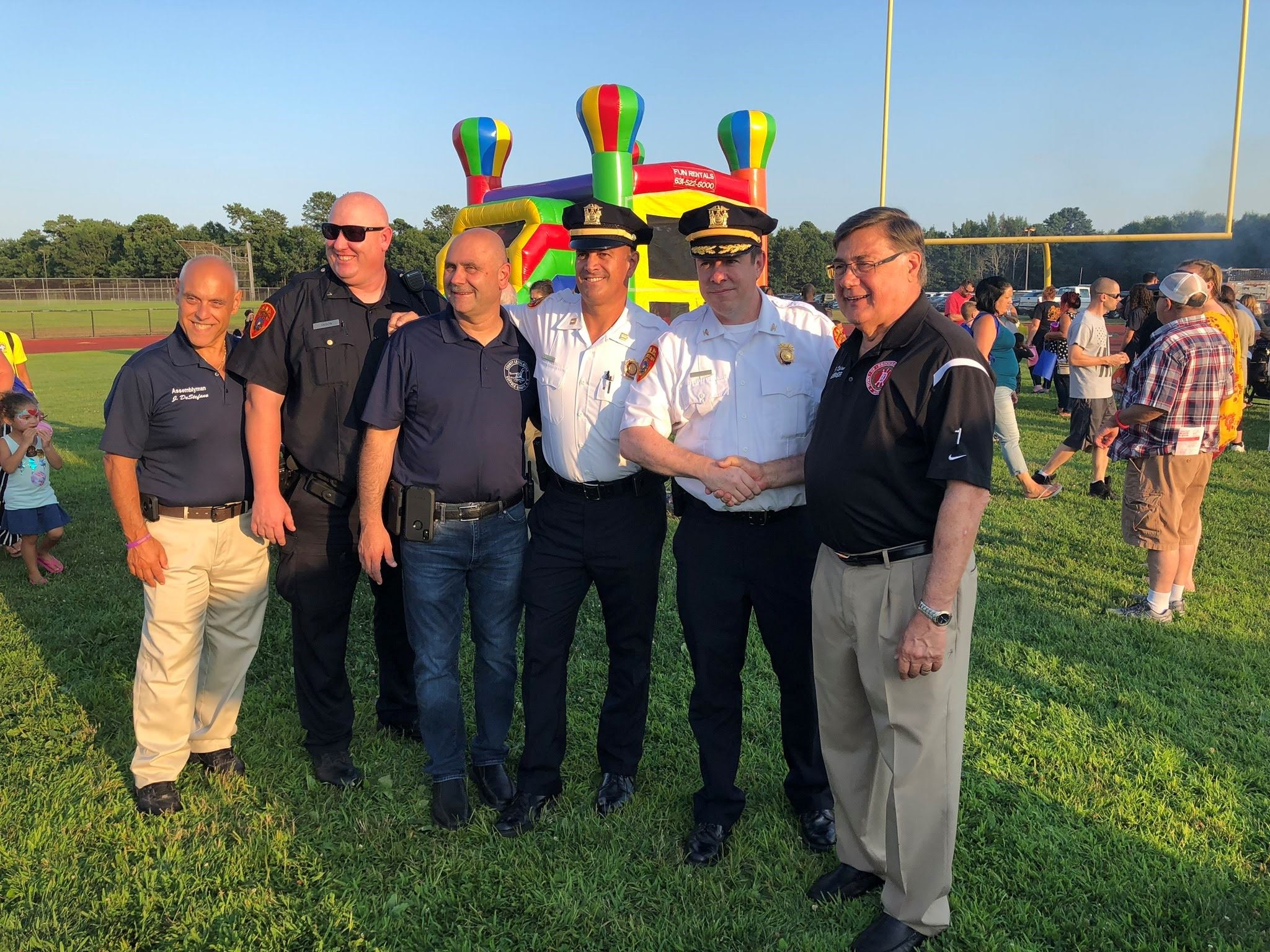 William Floyd National Night Out group photo