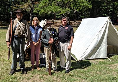 Civil War Re-Enactors Brookhaven Town Fair