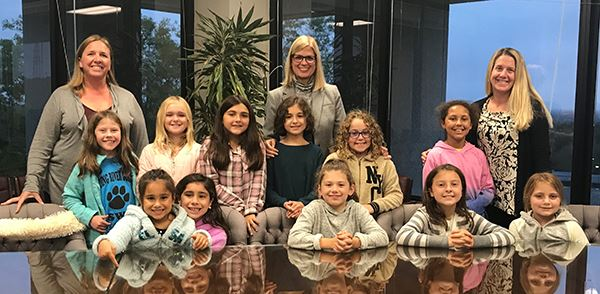 Girl Scout Troop 2682 from Shoreham-Wading River