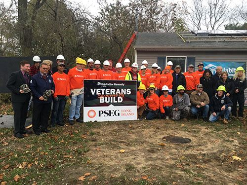 Councilman Loguercio and PSEGLI Volunteers Group Photo