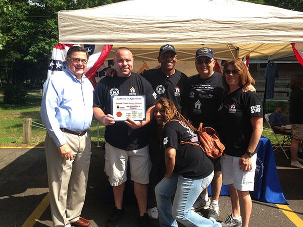 Supervisor Romaine Joins with Dwyer Veterans Peer Support Project for 5th Annual Day of Wellness