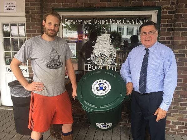 Supervisor Romaine announces Port Jefferson Brewing Company participation in Brookhavens Brew to Moo