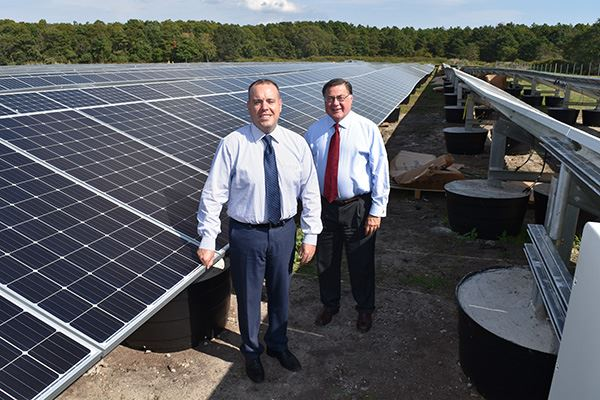 Solar Panel Installation Moving Ahead at the Manorville Compost Facility