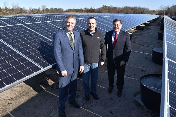 Town's Holtsville and Manorville Renewable Energy Generating Facilities Begin Producing Solar Pow
