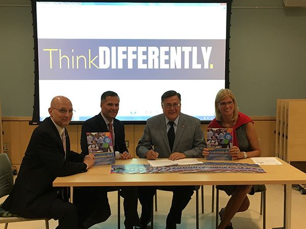 Supervisor Romaine and Councilwoman Bonner Lend Support to Think Differently Initiative