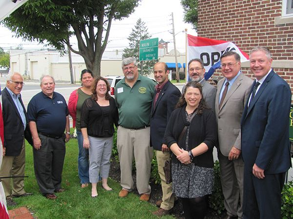 Supervisor Romaine and Councilman Foley Celebrate Opening of Greater Patchogue Historical Society Mu