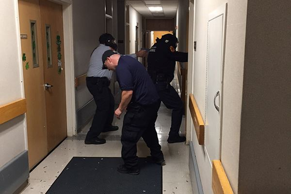 Suffolk County Police Department Holds Active Shooter Drill at Brookhaven Town Hall