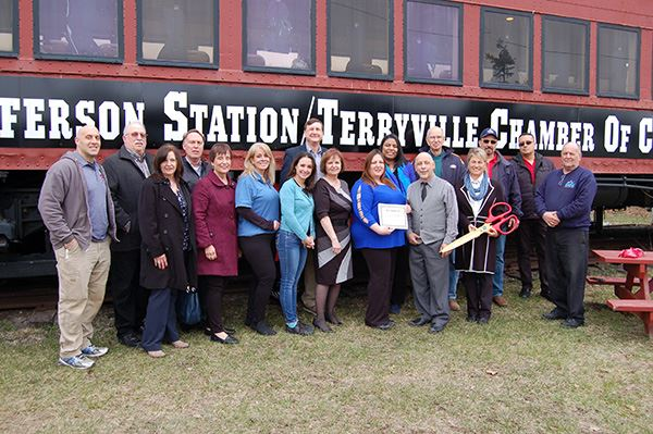 Councilwoman Cartright Celebrates Launch of Port Jefferson Station/ Terryville Chamber of Commerce