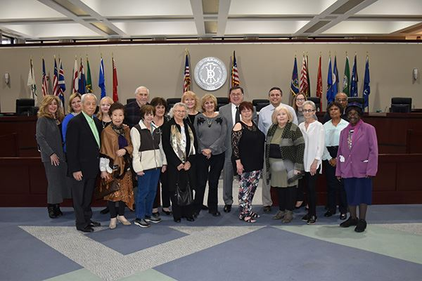 Supervisor Romaine and Councilman LaValle Honor Foster Grandparents for National Service Recognition