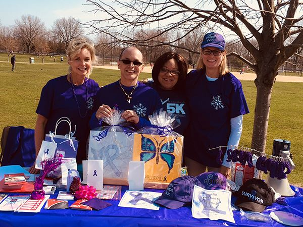 Councilwoman Bonner Joins 4th Annual Sarcoidosis of Long Island Awareness Walk at Heritage Park in M