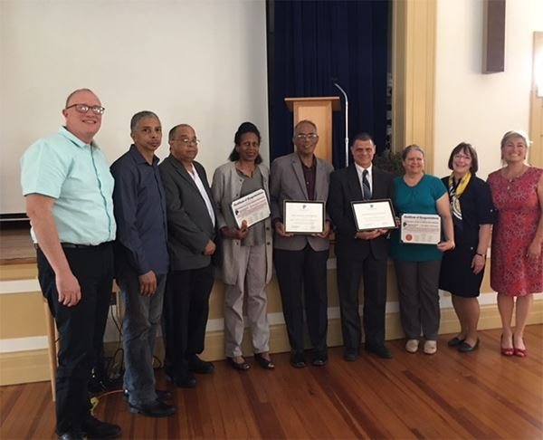 Councilwoman Cartright Honors 2018 Preservation Award Winners