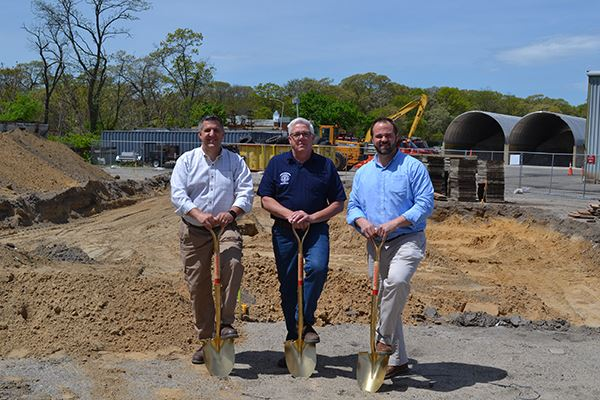 Brookhaven Highway Department Breaks Ground On 1.8-Million Truck Wash Facility