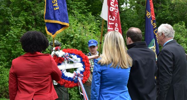 Councilwoman Cartright Attends Memorial Day Events